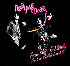 From Here to Eternity: The Live Box Set [Box] by New York Dolls (CD,...