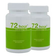 72 Hour Slimming Pill 2 Pack - Top Weight Loss Pill for Safe and Fast Detox Diet