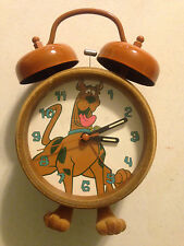 WAL-MART EXCLUSIVE RARE SCOOBY-DOO DOUBLE BELL ALARM CLOCK TF