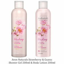 Avon Naturals Cherry Blossom Shower Gel & Body Lotion Set 200ml