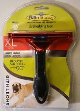 FURMINATOR DeSHEDDING TOOL XL Limitd 90 lb SHORT HAIR DOG Free First Class In US