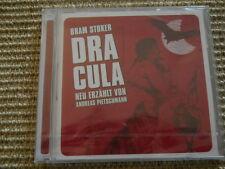 Bram Stoker Dracula - Neu erzählt von Andreas Pietschmann - CD - Neu / OVP