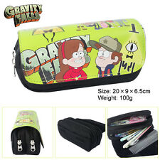 Gravity Falls Dipper Pines Pencil Pen Case Cosmetic Make Up Bag Storage Pouch