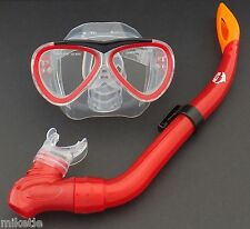 NEW WILCOMP CHILDS SILICONE MASK & SNORKEL SET for 5-12 years old WIL-DS-5