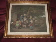 W R Bigg Sunday Morning Cottage Family Going Church Nutter Engrave Print Sungott