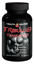 Tribulus Terrestris Extract 1000mg - Muscle Mass Gain Supplement Tablets - 1B