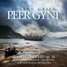 CD Grieg Peer Gynt-Piano Concerto op.16 mit Sir Thomas Beecham,Royal Phil 2CDs