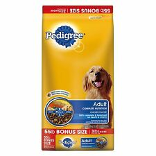 Pedigree Adult Complete Nutrition - 55 lbs. dog food healthy skin Free Shipping