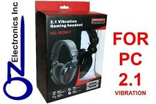 Gaming Headset for Computer Laptop PC game sound +chat 2.1 EXTRA BASS Stereo NEW