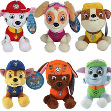 6pcs Cute PAW PATROL Figures Pup Dog Plush Doll Kids Boy Girl Toy Set Xmas Gift