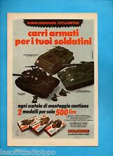 ALTOP973-PUBBLICITA'/ADVERTISING-1973- ATLANTIC - CARRI ARMATI :LEOPARD/M113/...