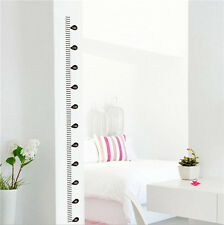 SW Removable Height Chart Measure Wall Sticker Decal for Kids Baby Room DIY