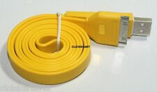 USB Flat Charge Data Sync Cable For Apple iPhone iPod Touch 3G/S 4/4S iPad Nano