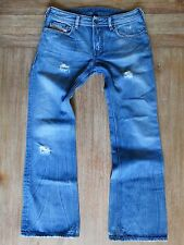"DIESEL CLASSIC VINTAGE ""2003"" COTTON ""ZATHAN"" MEDIUM BLUE JEANS MENS SIZE: 32X32"