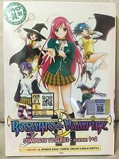 DVD Anime Rosario + Vampire Complete TV Series (Season 1&2) English Dub ALL R0