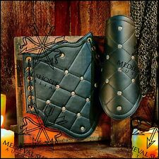 Vambraces - Medieval Forearm Armour - Leather Arm Guards (Ke8)