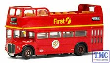 E33105 OO/HO Gauge RMC Routemaster Open Top First London (Route 9) Exclusive Fir