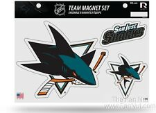San Jose Sharks Multi Die Cut Magnet Sheet Auto Home NHL Hockey