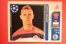 PANINI CHAMPIONS LEAGUE 2011/12 N 118 OBRANIAK LILLE WITH BLACK BACK MINT!!