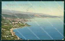 Imperia Sanremo ABRASA cartolina XB2189