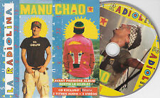 CD CARTONNE CARDSLEEVE COLLECTOR 2T + 3 VIDEOS MANU CHAO LA RADIOLINA 2007