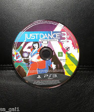 Just Dance 3 Special Edition DISK ONLY (PlayStation 3, 2011) PS3 - FREE POST