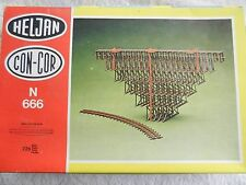 N scale Heljan Con-Cor Wood Trestle #666 Straight or Curved