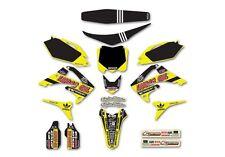 Honda Crf250 2010-13 Crf450 2009-12 Tld Neon gráficos, Fender, Plásticos + Kit De Asiento