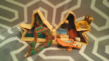 No young Simba!  Vintage MATTEL Disney LION KING Mini Pride Rock Playset AS IS