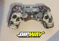 Hydro Dipped PS4 Controller Full Shell - Kiss of Death Camo, Call of duty Ghosts