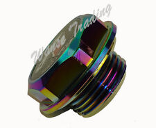 CNC TRD Engine Fuel Tank Oil Filler Cap Cover Neo Chrome Fit TOYOTA SCION