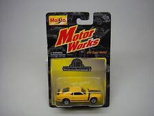 70 BOSS MUSTANG-LIMITED EDITION-132-MAISTO-MOTOR WORKS- SEALED ON CARD