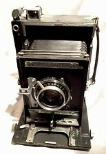 RARE Collectable -Graflex Speed Graphic 4X5 Camera W/Graflex Optar f4.7 135mm