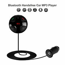Bluetooth Car Kit MP3 Player Hands-free Call Wireless FM Transmitter Modulator
