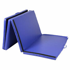 "Goplus Folding Gymnastics Gym Exercise Mats 4'x10'x2"" Stretching Yoga Mat B"