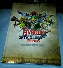 ZELDA HYRULE WARRIORS LEGENDS COLLECTORS EDITION STRATEGY GUIDE AND ART BOOK NEW