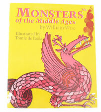Vintage Children Book Monsters of the Middle Ages William Wise Tomic de Paola PB