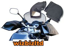 Motorcycle OVER WINTER GLOVES - WARM HANDS Handlebar BAR MUFFS - GRPMUFF