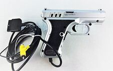 PS2 LightGun Logic 3 P7K silber / Playstation 2 Arcade Shooter