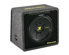 "Kicker 40VCWS124 CompS 12"" Passive Car Audio Subwoofer Enclosure - 300w RMS"
