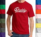 Daddy Since 2015 Unisex T Shirt New Dad Cute Fathers Day Holiday Gift Tee Shirt