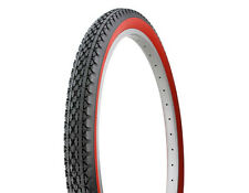 DURO WIDE 26 x 2.125 RED WALL BIKE TIRES BEACH CRUSIER CHOPPER LOWRIDER BICYCLE
