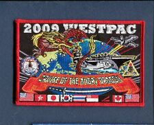 CVN-74 USS JOHN STENNIS CVW-9  WESTPAC 2009 US Navy Ship Squadron Cruise Patch