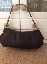 GORGEOUS SOFT BROWN LEATHER SHOULDER BAG FROM MARKS & SPENCER AUTOGRAPH USED