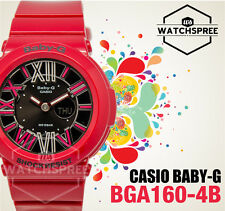 Casio Baby-G Ladies Red Metallic Dial Multi-Function Watch BGA160-4B