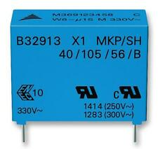 Capacitors -CAP FILM PP 330NF 330VAC RAD - Pack of 5