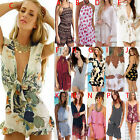 Summer Women Sexy Clubwear Playsuit Bodycon Jumpsuit Rompers Shorts Beach Dress
