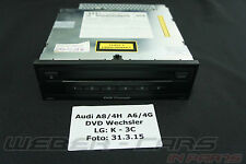orig. VW Touareg 7P Audi A8 4H DVD Wechsler MP3 CD DVD Changer 4H0035108A