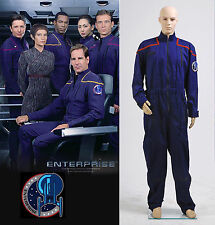 Star Trek Enterprise Duty Jumpsuit Uniform Costume *Tailored*