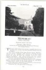 1932 School Mowbray Great Malvern Principal Mrs Dalton Ad